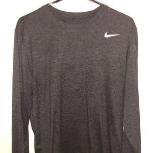 Nike Dri-Fit Athletic Cut Long Sleeve Shirt